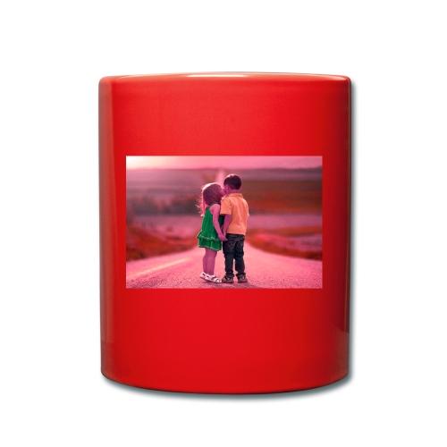 Full HD with hd love - Full Colour Mug