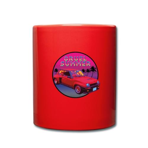R5 Turbo vintage - Cruel Summer. Bananarama - Taza de un color
