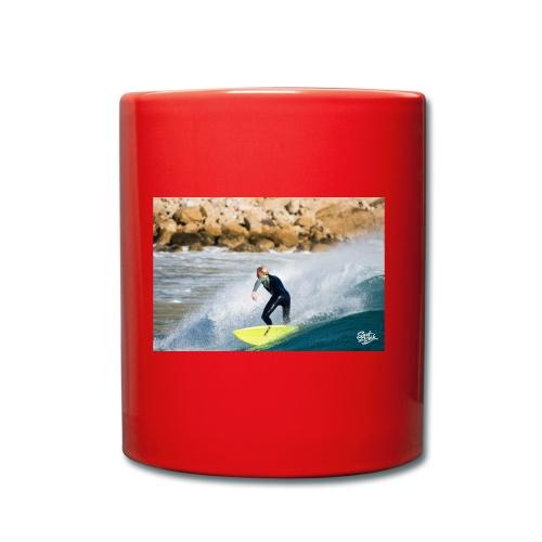 Wave after wave - Tasse einfarbig