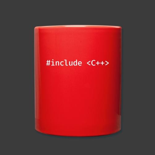 White Include Logo - Full Colour Mug