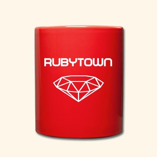 Rubytown - Tasse einfarbig