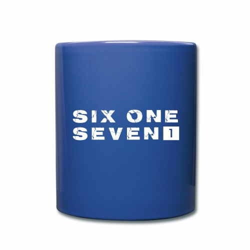 SIX ONE SEVEN 1 PROJECT LOGO FULL 1 WHITE - Full Colour Mug