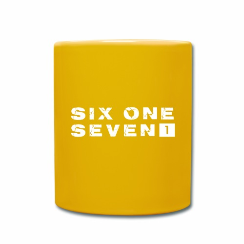 SIX ONE SEVEN 1 PROJECT LOGO FULL 1 WHITE - Full Colour Mug