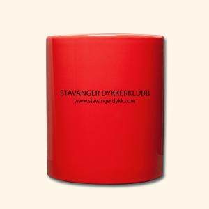 Stavanger Dykkerklubb - Ensfarget kopp