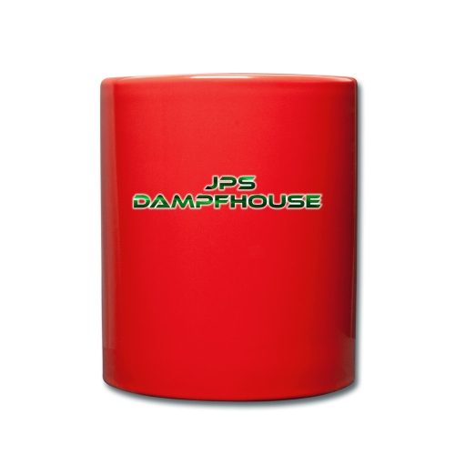 JPs DampfHouse Logo - Tasse einfarbig