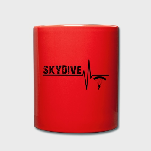 Skydive Pulse - Tasse einfarbig