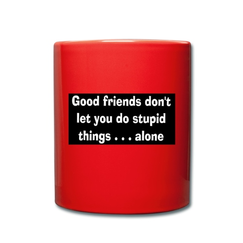 good friends - Full Colour Mug