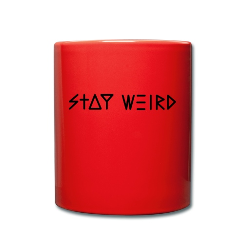Stay Weird - Full Colour Mug