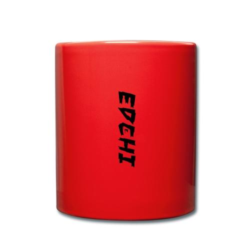 Edchi - Ensfarvet krus