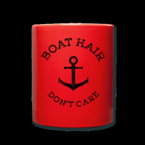 Boat Hair Dont Care - Anker - Tasse einfarbig