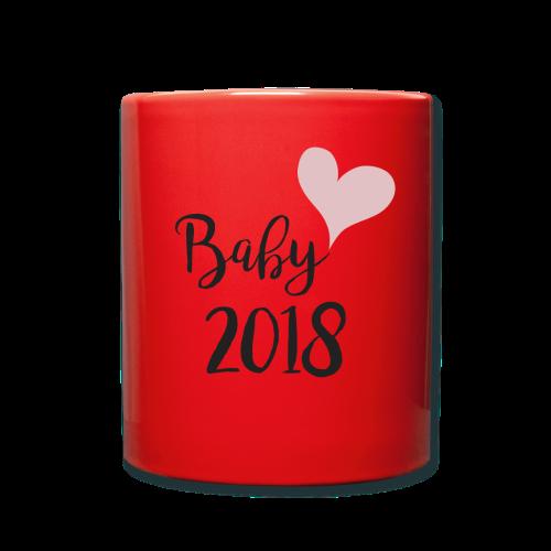 Baby 2018 - Tasse einfarbig