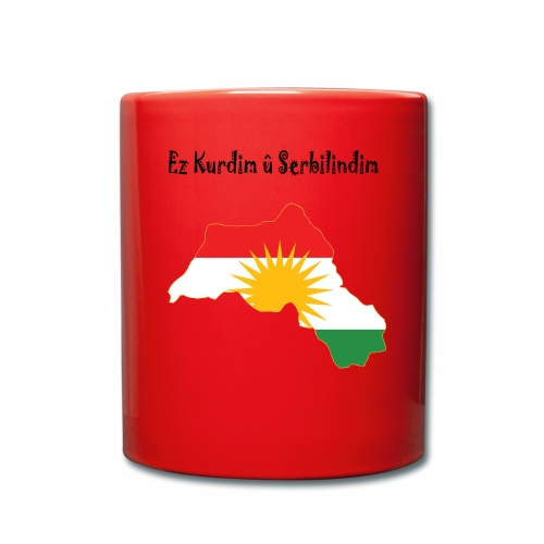 Ez kurdim u serbilindim - Enfärgad mugg