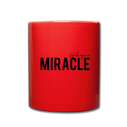 Working on a miracle IVF Top - Full Colour Mug