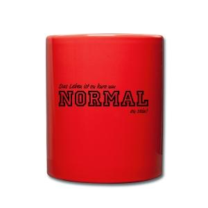 NORMAL - Tasse einfarbig