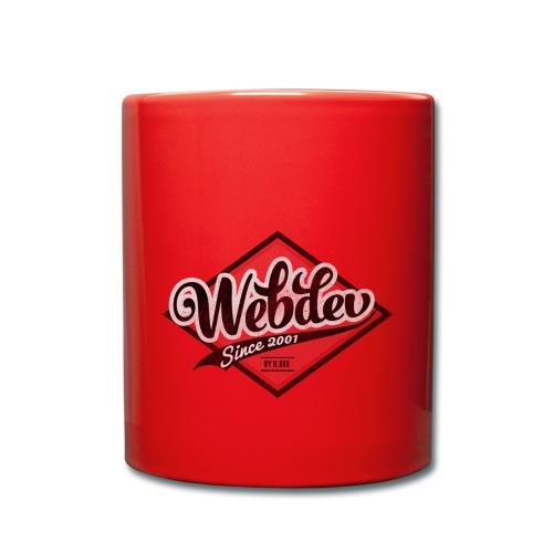 webdev logo - Tasse einfarbig