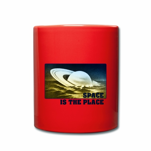 SPACE IS THE PLACE DEF RED BUBBLE 2 - Mug uni