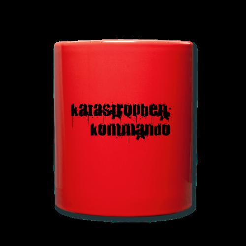 KK Logo schwarz - Tasse einfarbig