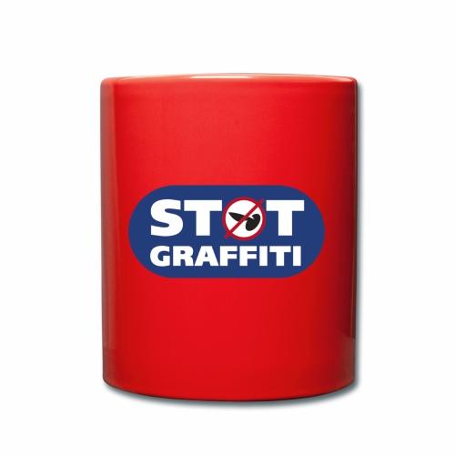 støt graffiti - Ensfarvet krus