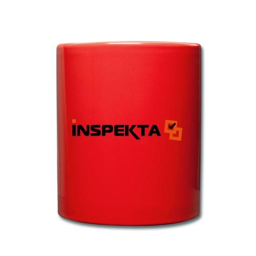 INSPEKTA hoved - Ensfarget kopp