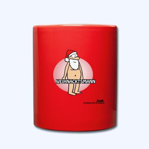 Weichnacktsmann neu - Tasse einfarbig