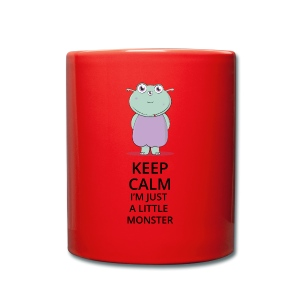 Keep Calm - Little Monster - Petit Monstre - Tasse en couleur