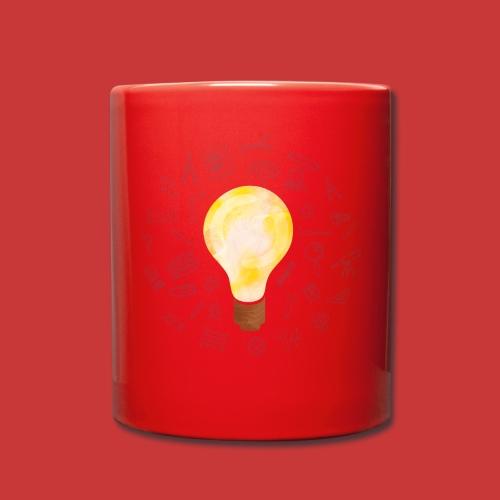 5 IDEEN Glühbirne 2018 - Tasse einfarbig