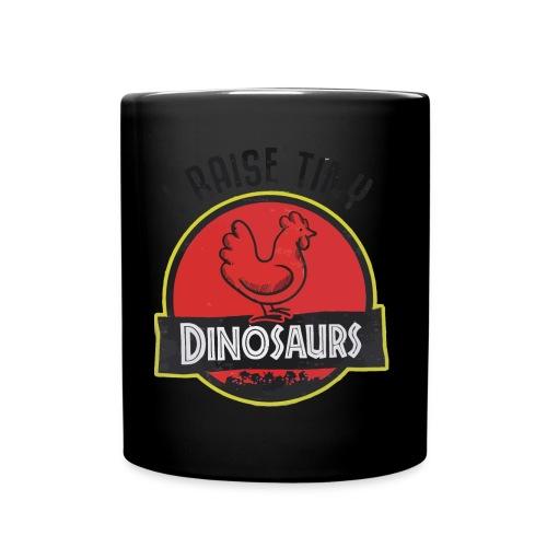 I raise tiny dinosaurs chicken - Full Colour Mug
