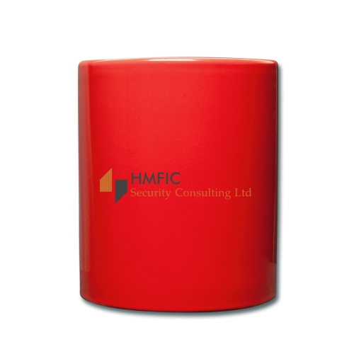 HMFIC Security Consulting Logo - Tasse einfarbig