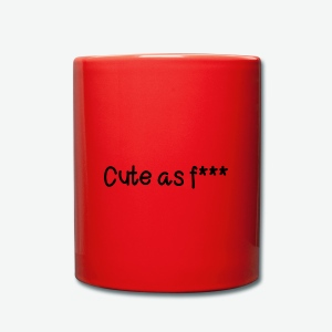 Cute - Taza de un color