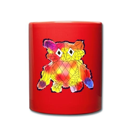 Eule | Design - Tasse einfarbig