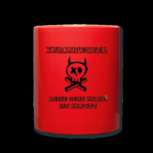 Knallteufel - Tasse einfarbig