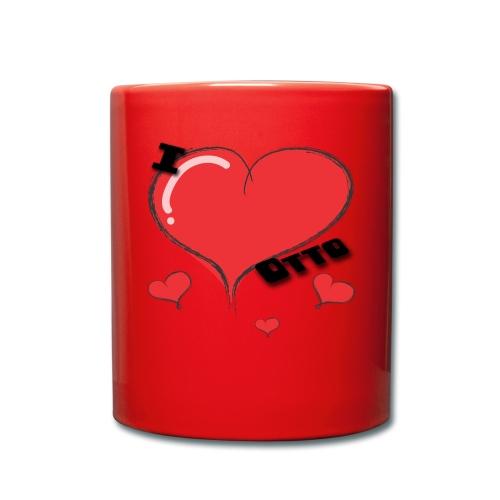 I Love Otto - Ensfarget kopp