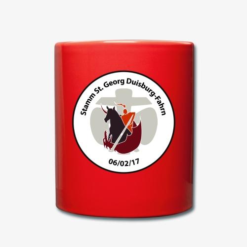 Logo mit Schriftzug - Tasse einfarbig