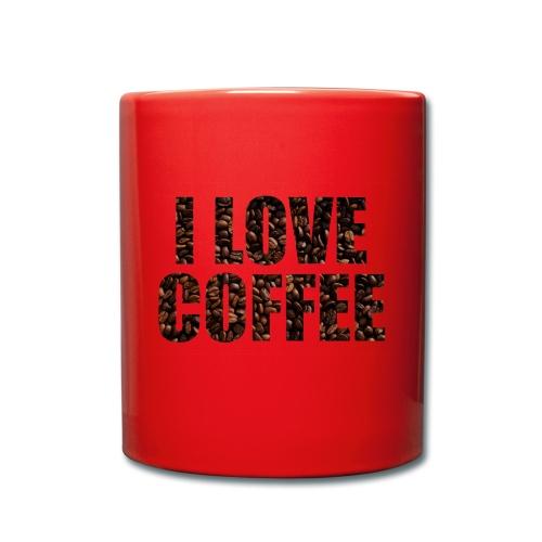 I LoveCoffe - Enfärgad mugg