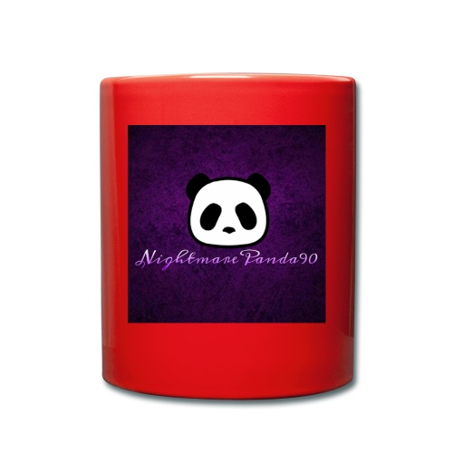 nightmare panda watermark - Full Colour Mug
