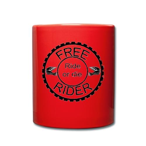 Free Rider ROD - Tasse einfarbig