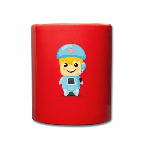 robot medico - Taza de un color