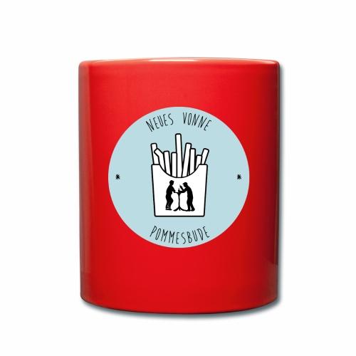 Neues vonne Pommesbude - Tasse einfarbig