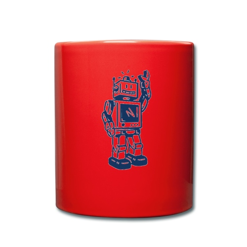 robi v01b - Tasse einfarbig