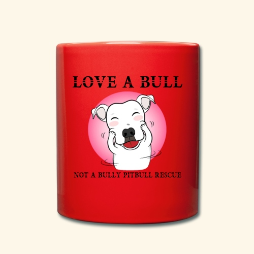LOVE A BULL - Tazza monocolore