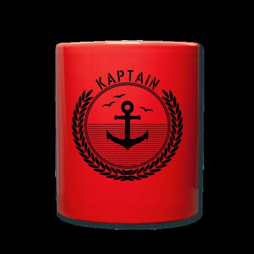 Kaptain - Anchor - Tasse einfarbig