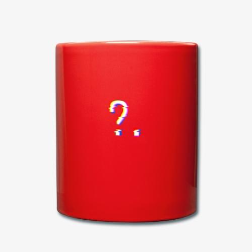 What? - Taza de un color