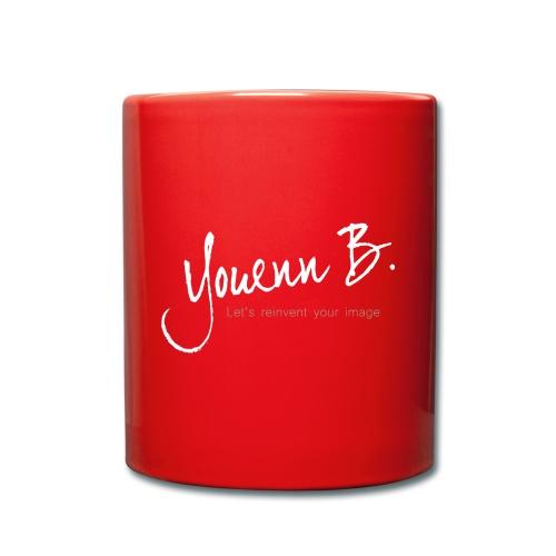 Logo YouennB White - Mug uni