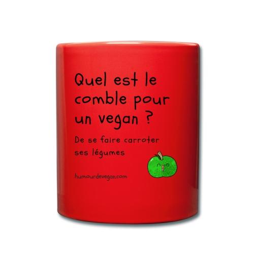 Humourdevegan.com - Comble d'un vegan - Mug uni