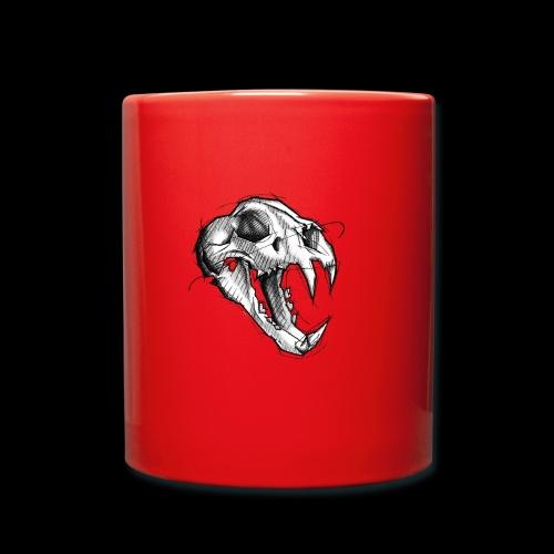 Teschio Tigre - Tazza monocolore