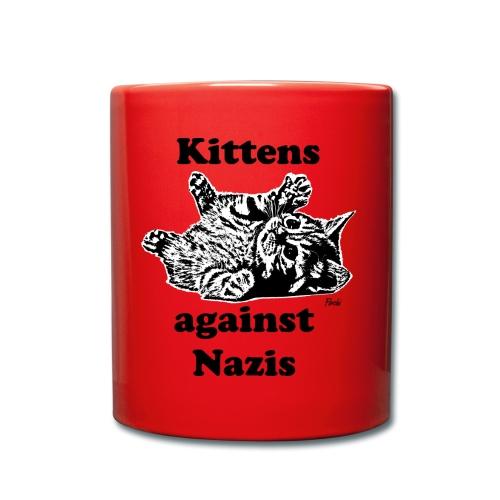 kittensagainstnazis - Tasse einfarbig