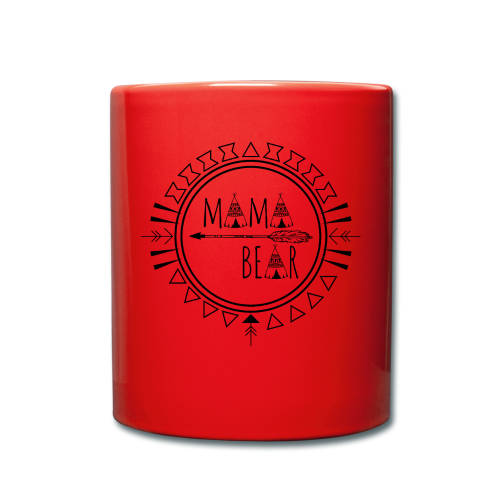 Mama Bear - Tasse einfarbig