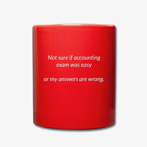 Easy Exam - Full Colour Mug