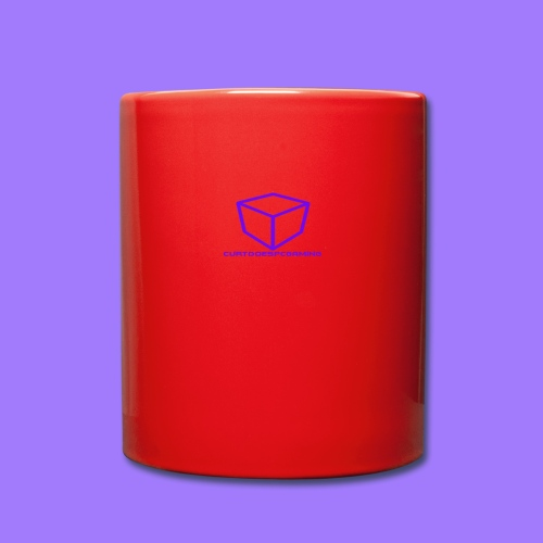 curtdoespcgaming logo #2 - Full Colour Mug