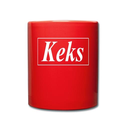Keks - Tasse einfarbig